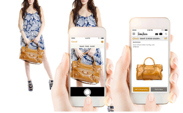 how visual search works