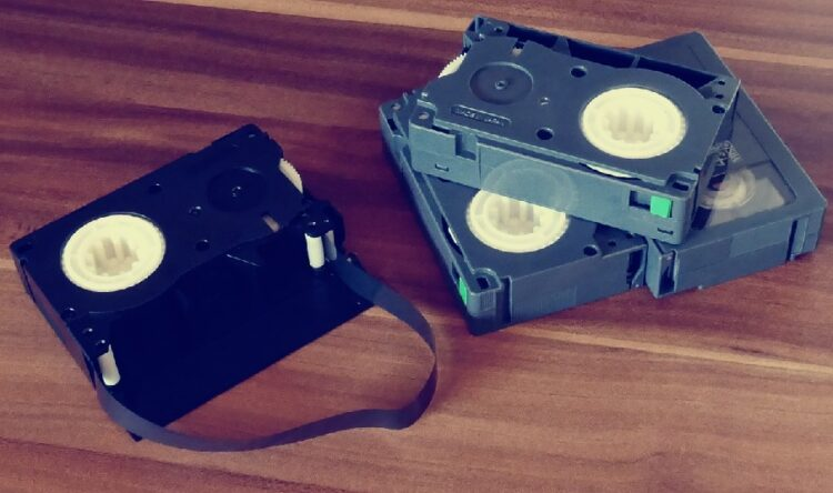 How to Recycle and Reuse VHS Tapes, VHS Tapes