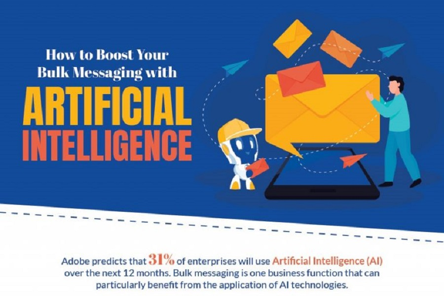How to Boost Your Bulk Messaging with Artificial Intelligence [Infographic]